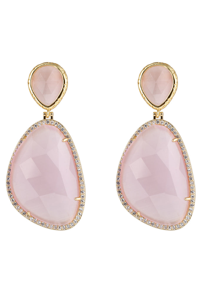 Alyosha Earrings - Pink