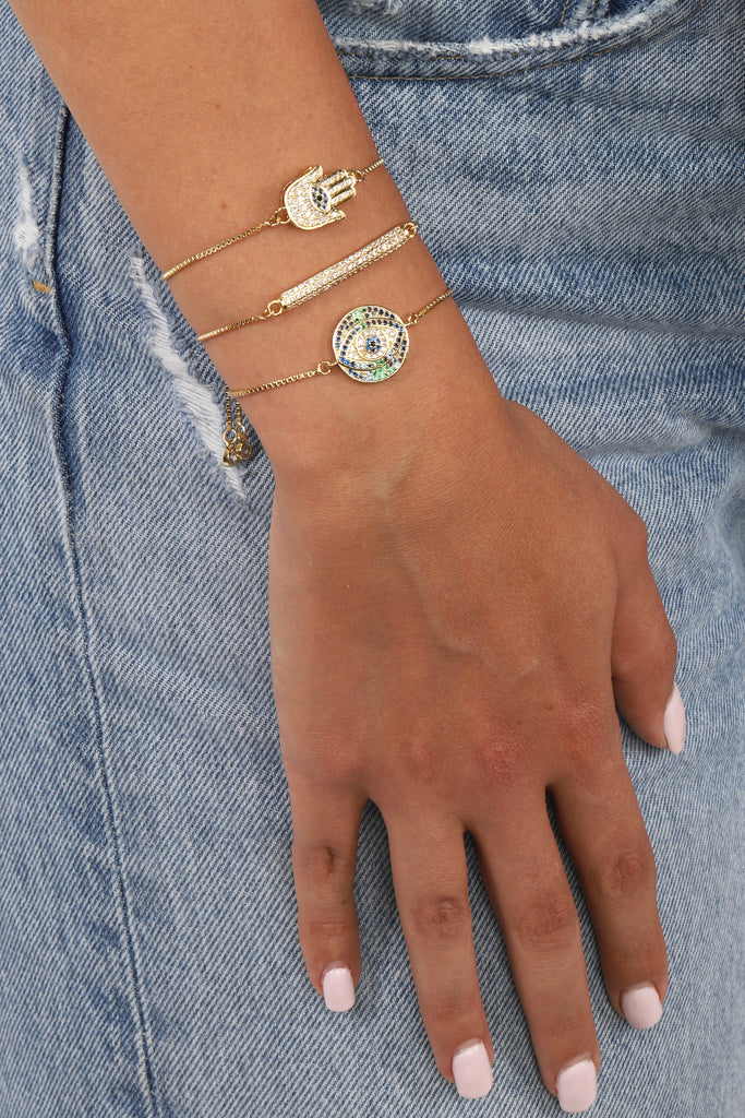 Selina Bracelet Set - Gold