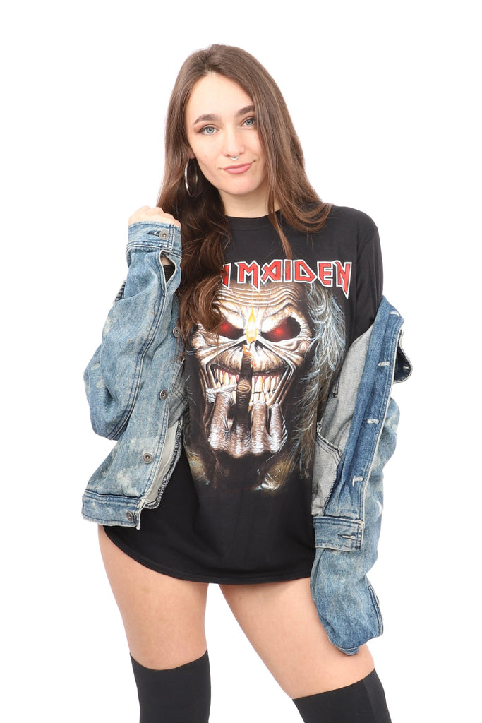 Iron Maiden Middle Candle Finger