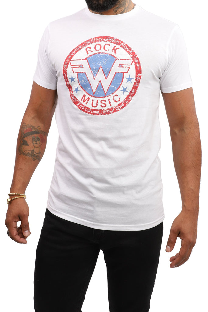 Weezer T-Shirt - It's Too Loud... - White