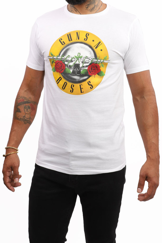Guns 'N' Roses Logo (White)