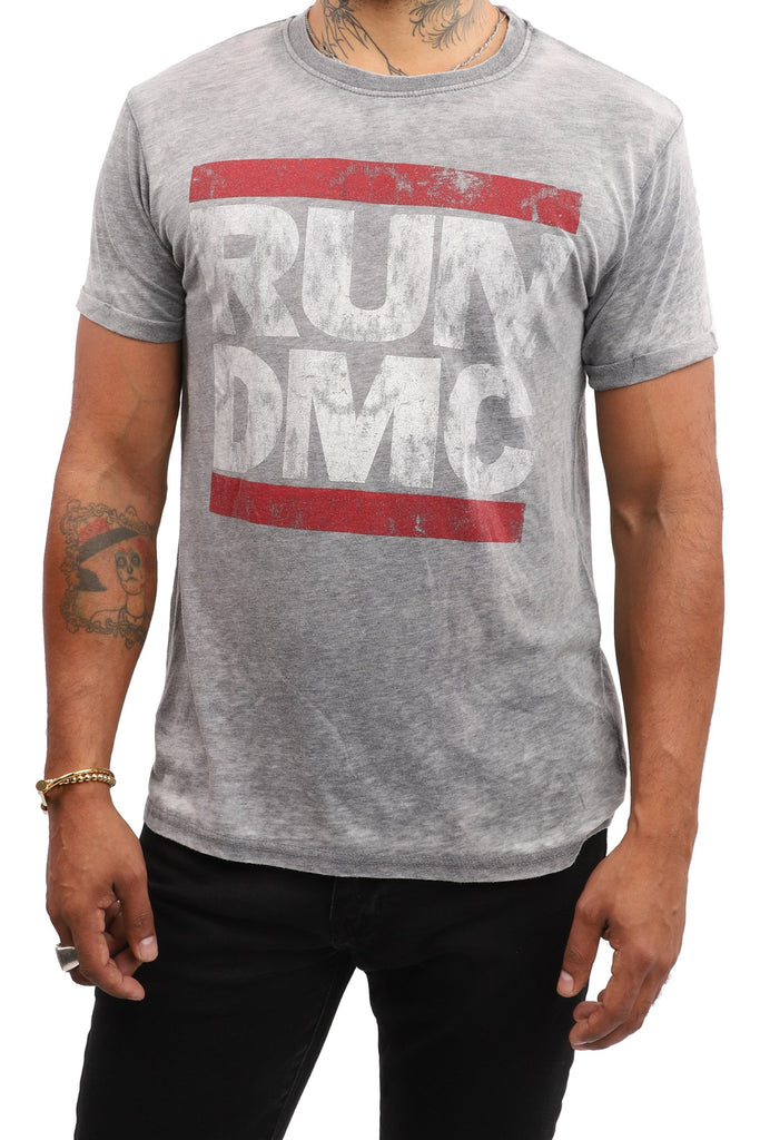 Run DMC T-Shirt - Logo - Grey