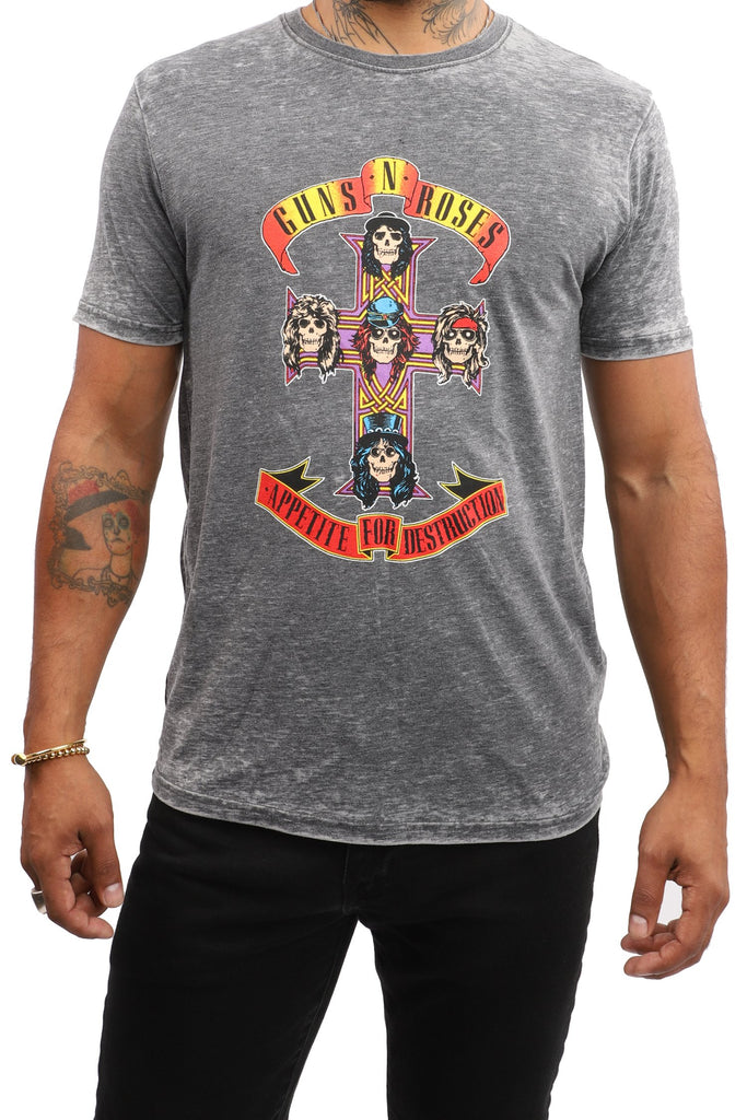 Guns 'N' Roses - Appetite for Destruction (Grey)