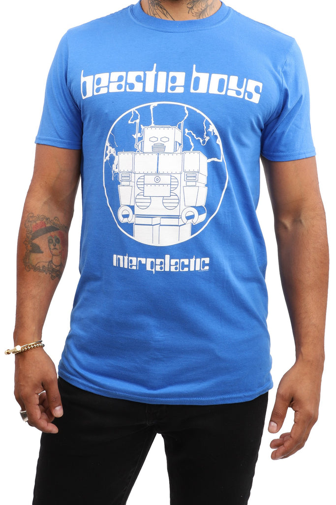 Beastie Boys T-Shirt - Intergalactic - Blue