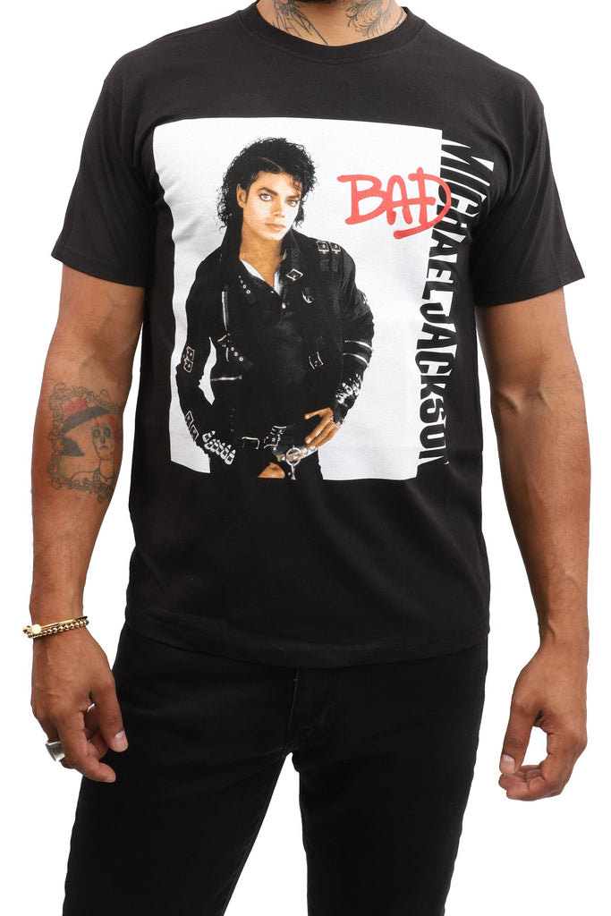 Michael Jackson - Bad (Black)