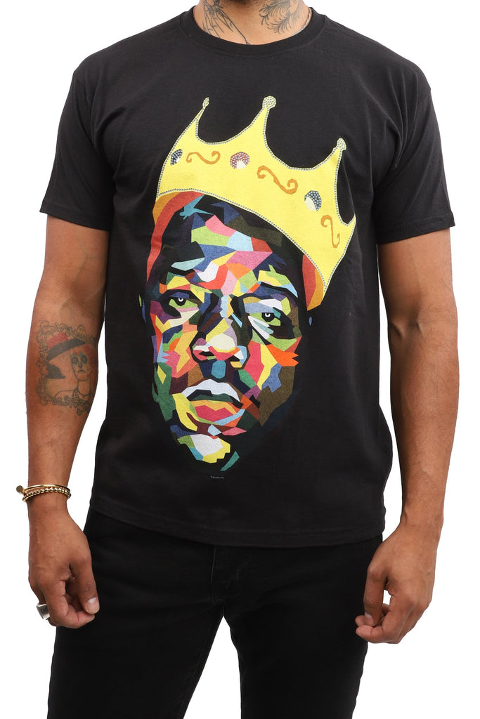 Biggie T-Shirt - Crown - Black
