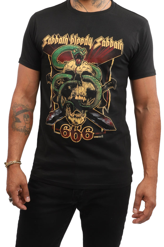 Black Sabbath - Bloody Sabbath 666 - Black T-Shirt