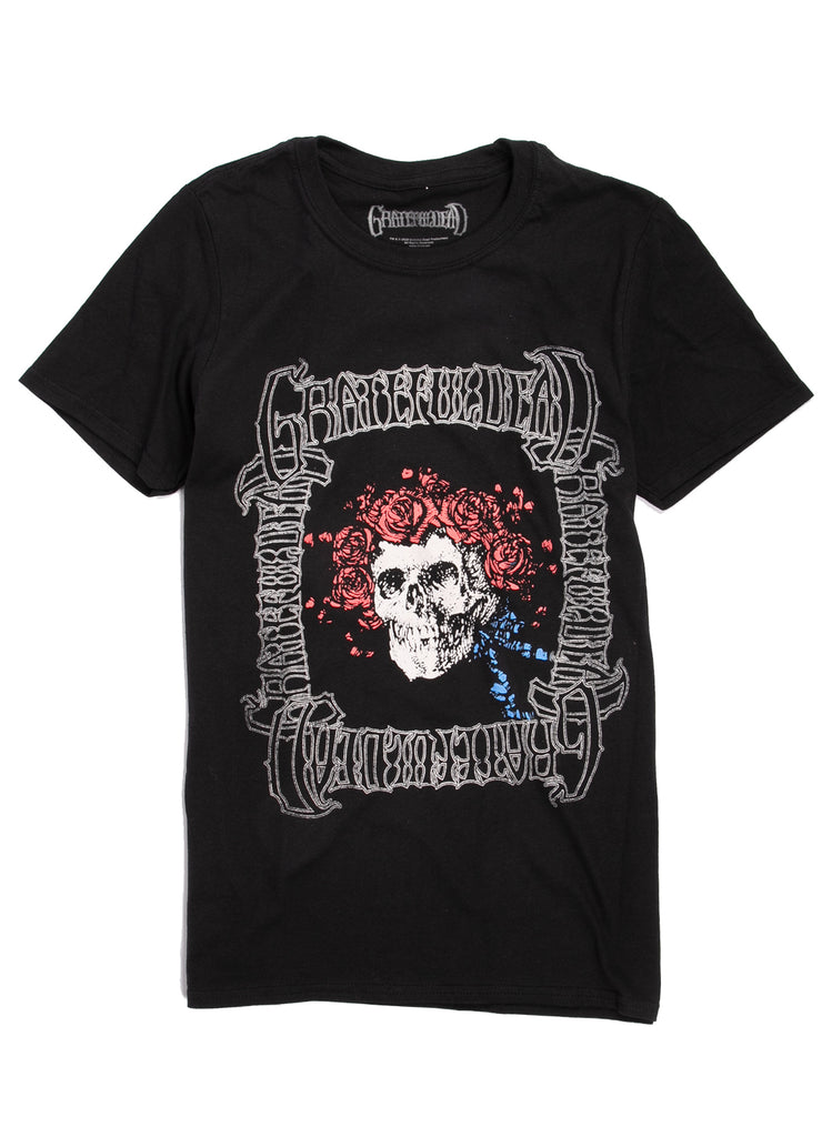 Grateful Dead T-Shirt - Skeleton - Black