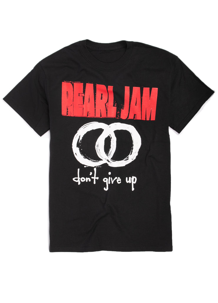 "Pearl Jam ""Don't Give Up"" t-shirt."