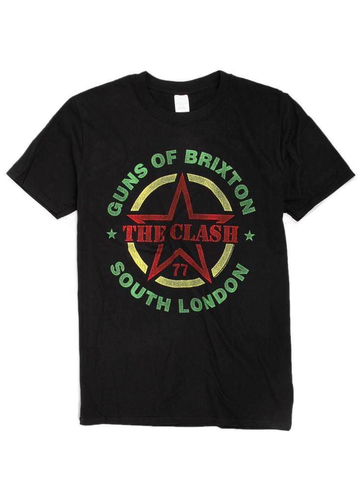 "The Clash ""Guns Of Brixton"" t-shirt."