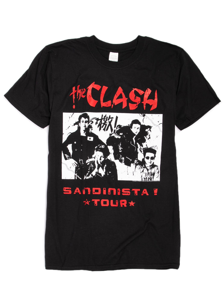 The Clash Sandinista tour t-shirt.