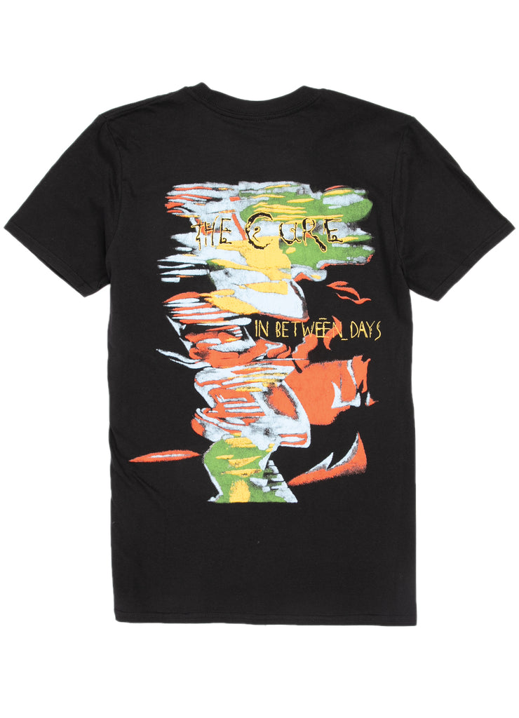 The Cure T-Shirt - In Between Days - Black