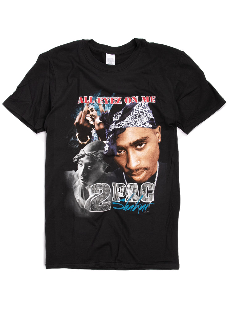 "Tupac ""All Eyez On Me"" t-shirt."
