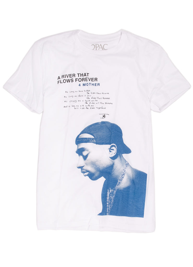 "Tupac ""A River That Flows Forever"" t-shirt."