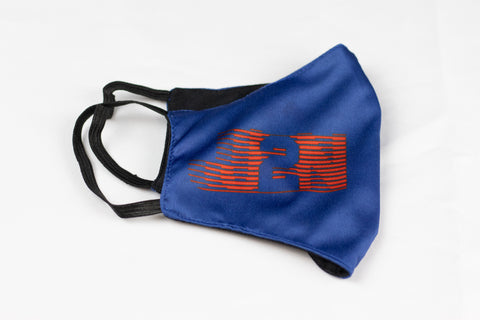 Blue 2021 YOC Big logo Mask - Just2Nice