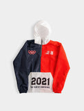 Red Track Jacket 2021 Year of Confidence - Just2Nice