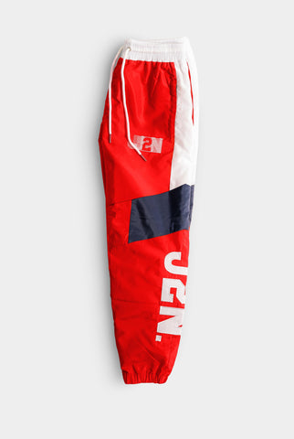 Red Track Pants 2021 Year of Confidence - Just2Nice