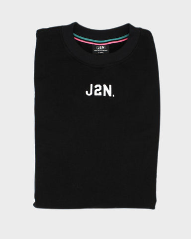 J2N BLACK CREW NECK - Just2Nice
