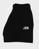 J2N BLACK FRENCH TERRY SHORTS - Just2Nice
