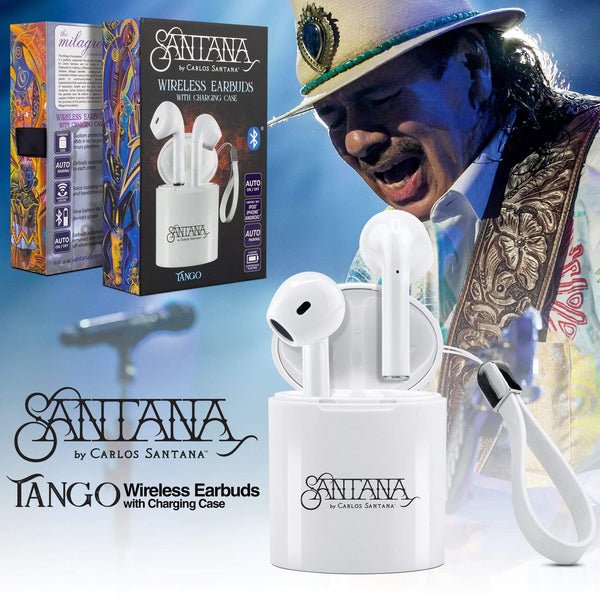 Santana Tango Wireless Earbuds with Charging Case