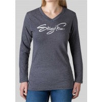 Women's Strong & Free™ Long Sleeve V-Neck T-Shirt