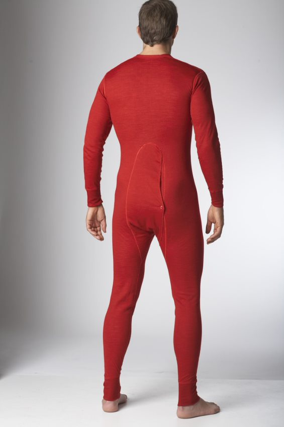 Men's Two Layer Wool Onesie