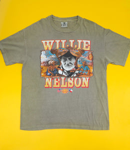 Vintage Anvil Willie Nelson T-Shirt