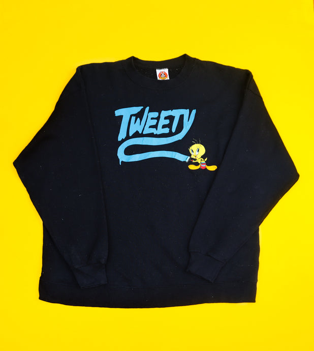 Warner Bros' Tweety Graffiti Sweatshirt