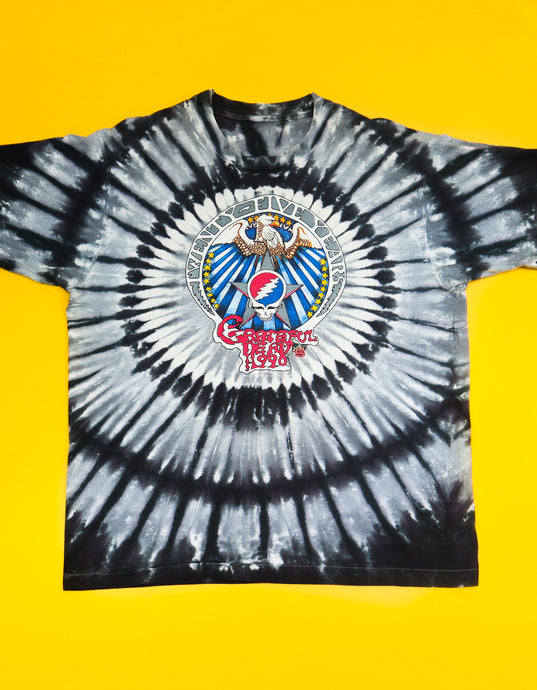 1990 Grateful Dead '25 Years Dead' T-Shirt