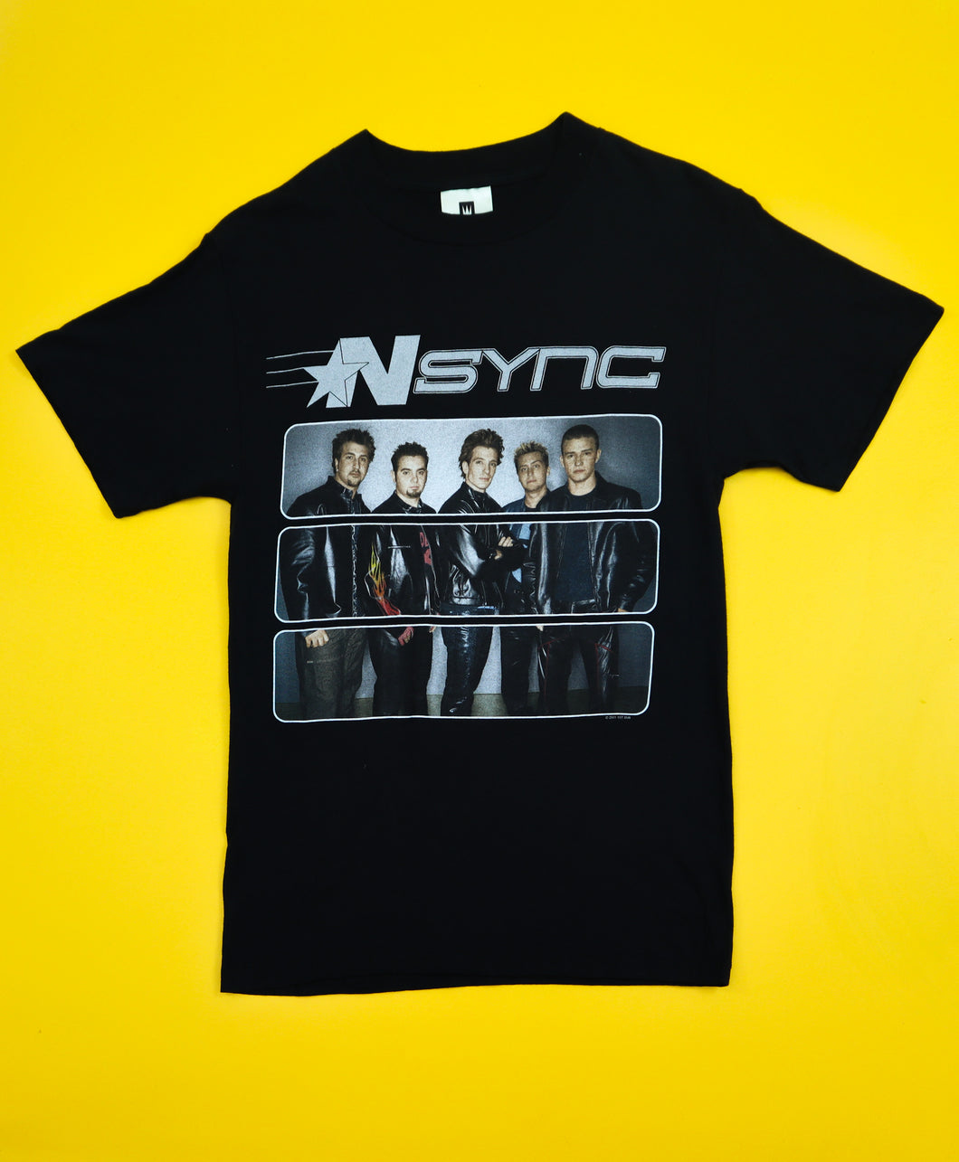 *NSYNC 2001 POPODYSSEY World Tour Band Tee