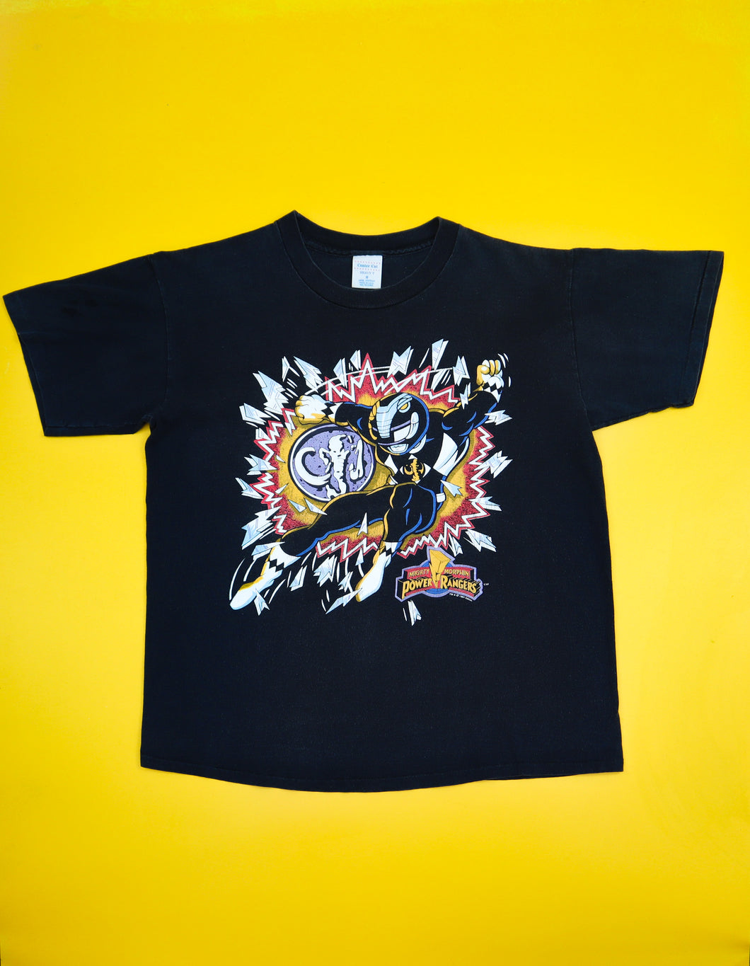 Black Mighty Morphin Power Ranger 1994 Tee