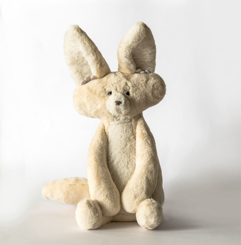 Fidget the Fennec Fox (Weighted Toy)