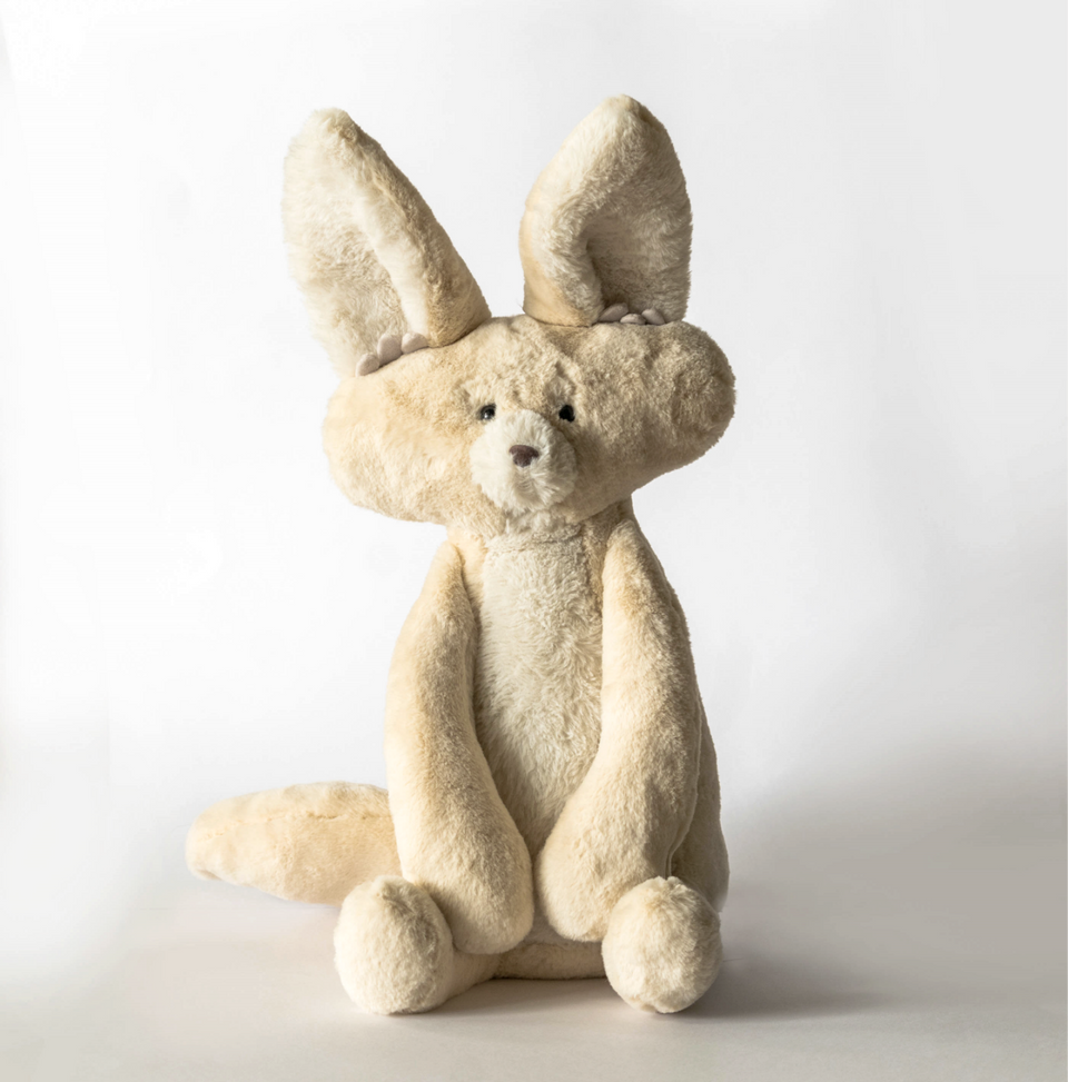 Load image into Gallery viewer, Fidget the Fennec Fox (Weighted Toy)