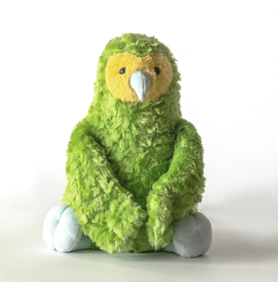 Load image into Gallery viewer, Kani the Kakapo (Weighted Toy)