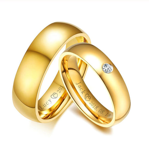 Lox Classic Couple Ring - Lox Jewels
