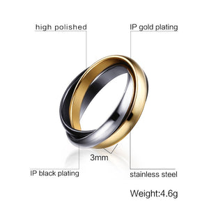 Lox Classic 3 Round Ring Variety - Lox Jewels