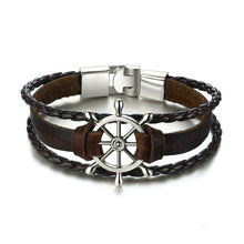 Load image into Gallery viewer, Helm Leather Bracelet Variety - Lox Jewels