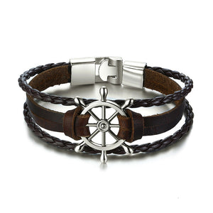 Helm Leather Bracelet Variety - Lox Jewels