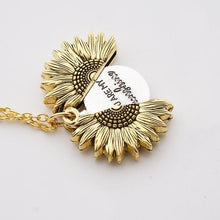 Load image into Gallery viewer, You Are My Sunshine Sunflower Necklace - Lox Jewels