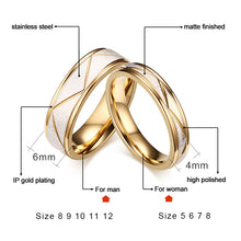 Load image into Gallery viewer, Lox Matte Couple Rings - Lox Jewels
