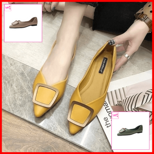 Claire Pointed Shoes