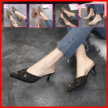 Load image into Gallery viewer, Rova Pointed Sandals