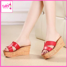 Load image into Gallery viewer, Milan Wedge Sandals