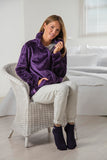 Mujer HEAT HOLDERS Zip Fleece Snug sobre suéter