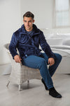 Mens HEAT HOLDERS Zip Fleece Snug over jumper