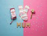 """Best Mum Ever"" Heat Holders Warm Wishes Gift Boxed Socks"