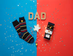 """#1 Dad"" Heat Holders Warm Wishes Gift Boxed Socks"