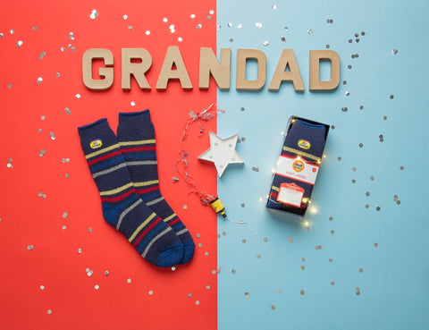 """Best Grandad"" Heat Holders Warm Wishes Gift Boxed Socks"