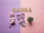 "Ladies HEAT HOLDERS Warm Wishes Gift Boxed Socks ""Best Nana"""