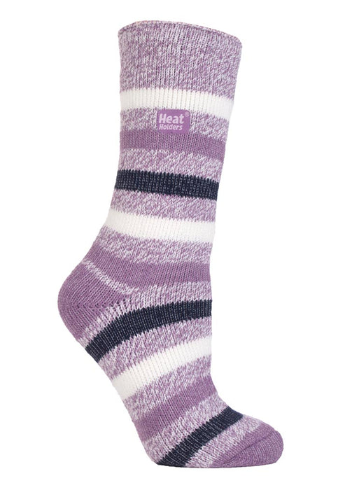 Ladies Heat Holders Fashion Twist socks 4-8 UK 37-42 EUR Ambleside